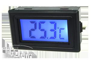 Thermometer mit Digitalanzeige – Blau